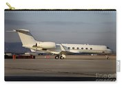Vip Jet C-37a Of Supreme Headquarters Carry-all Pouch by Timm Ziegenthaler