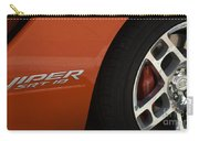 Viper Srt 10 Emblem And Wheel Carry-all Pouch