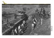 Virginia: Railroad, C1861 Carry-all Pouch