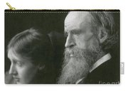 Virginia Woolf With Her Father Carry-all Pouch