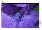 Vision In Violet Carry-all Pouch
