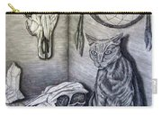 Visions Of Stimus The Cat Carry-all Pouch