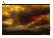 Vivachas Golden Hour Sunset Glowing Clouds  Carry-all Pouch