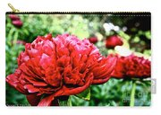 Vivid Peonies Carry-all Pouch