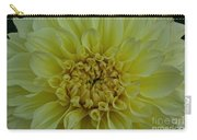 Vivid Yellow Dahlia Carry-all Pouch