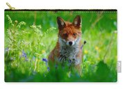 Vixen In Bluebells Carry-all Pouch