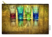 Vodka Glasses Carry-all Pouch by Svetlana Sewell