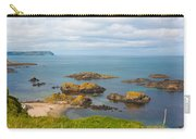 Volcanic Rock Formations In Ballintoy Bay Carry-all Pouch