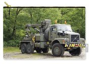 Volvo N10 Truck Crane Of The Belgian Carry-all Pouch by Luc De Jaeger