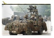 Vw Iltis Jeeps Used By Scout Or Recce Carry-all Pouch by Luc De Jaeger