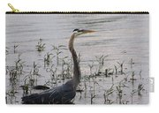 Wading Blue Heron - Ardea Herodias Carry-all Pouch