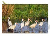 Wading Ibises Carry-all Pouch