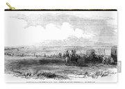 Wagon Train, 1859. For Licensing Requests Visit Granger.com Carry-all Pouch