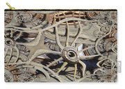 Wagon Wheel Fractal Carry-all Pouch