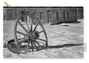 Wagon Wheel In Winter Carry-all Pouch