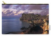 Waikiki At Night Carry-all Pouch