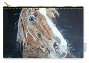 Waiting - Horse Portrait Carry-all Pouch
