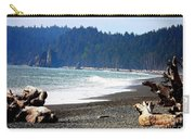 Walk On La Push Beach Carry-all Pouch