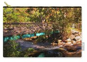 Walking Bridge In Autumn Carry-all Pouch