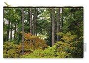 Walking Through An Autumn Garden Carry-all Pouch