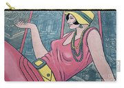 Wall Art Flapper Carry-all Pouch