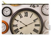 Wall Clocks Carry-all Pouch