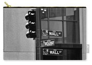 Wall Street And Broadway Carry-all Pouch