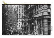 Wall Street Looking Toward Old Trinity Church - New York City - C 1910 Carry-all Pouch