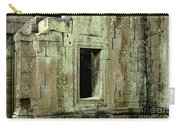 Wall Ta Prohm Carry-all Pouch by Bob Christopher
