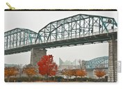 Walnut Street Bridge Carry-all Pouch by Tom and Pat Cory