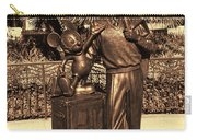 Walt And Mickey California Adventure Carry-all Pouch
