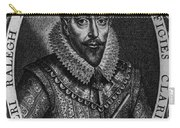 Walter Raleigh, English Courtier Carry-all Pouch