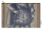 Walter Raleigh, English Explorer Carry-all Pouch by Photo Researchers