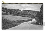 Wandering In West Virginia Monochrome Carry-all Pouch