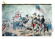 War Of 1812 Battle Of New Orleans 1815 Carry-all Pouch by Photo Researchers