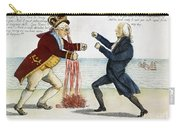 War Of 1812: Cartoon, 1813 Carry-all Pouch