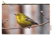 Warbler - Pine Warbler - Oh So Yellow Carry-all Pouch