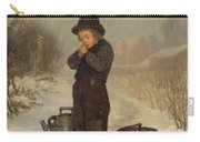 Warming His Hands Carry-all Pouch