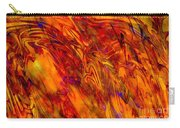 Warmth And Charm - Abstract Art Carry-all Pouch
