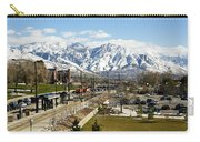 Wasatch Mountain Range Carry-all Pouch
