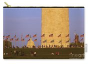 Washington Dc Sunset Carry-all Pouch