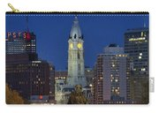 Washington Monument And City Hall Carry-all Pouch