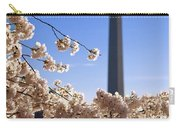Washington Monument Cherry Trees Carry-all Pouch