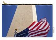 Washington Monument Flag Carry-all Pouch