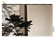 Washington Monument In Sepia Carry-all Pouch