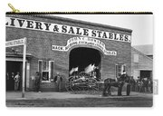 Washington: Stables, 1865 Carry-all Pouch