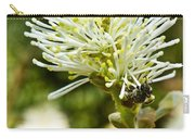Wasp On Fothergilla 1 Carry-all Pouch
