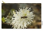 Wasp On Fothergilla 5 Carry-all Pouch