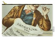 Watch Trade Card, C1880 Carry-all Pouch