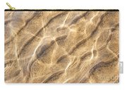 Water And Sand Ripples Carry-all Pouch